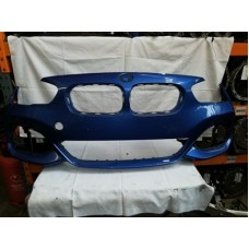 BMW 1 SERIES F20 F21 LCI MSPORT FRONT BUMPER ESTORIL BLUE