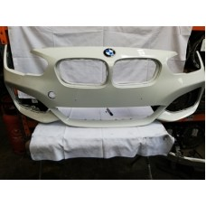 BMW 1 SERIES F20 F21 LCI MSPORT FRONT BUMPER ALPINE WHITE