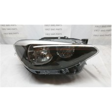BMW 1 SERIES F20 HELLA HALOGEN HEADLIGHT PRE LCI 1LG010741101 O/S