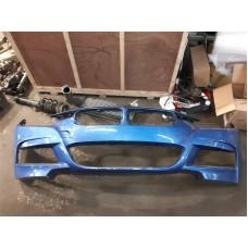 BMW F30 M-SPORT LCI FRONT BUMPER CRACKED *BLUE*