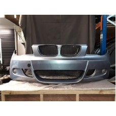 BMW E87/88 1 SERIES M-SPORT FRONT BUMPER *CRACKED* COMPLETE