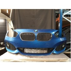 BMW 1 SERIES F20 F21 LCI MSPORT FRONT BUMPER COMPLETE ESTORIL BLUE
