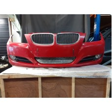 GENUINE BMW E90/91 SE FRONT BUMPER COMPLETE RED