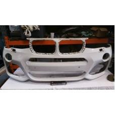BMW X5 F15 MSPORT FRONT BUMPER SKIN WHITE