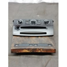 BMW 5 SERIES E 60 HEATER CONTROL PANEL WITH TRIM