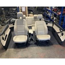 BMW 3 SERIES E92 COUPE CREAM LEATHER INTERIOR